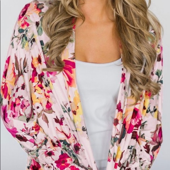 Sweaters - 🌸Brand new colorful floral cardigan